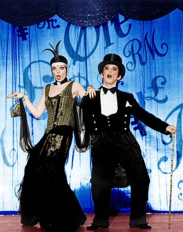 1970s Movies Art Print featuring the photograph Cabaret, From Left Liza Minnelli, Joel by Everett