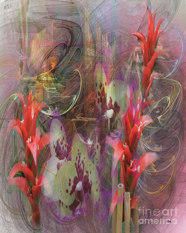 Chosen Ones Art Print featuring the digital art Chosen Ones by John Beck