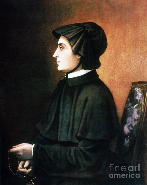 1804 Art Print featuring the painting Elizabeth Ann Seton by Granger