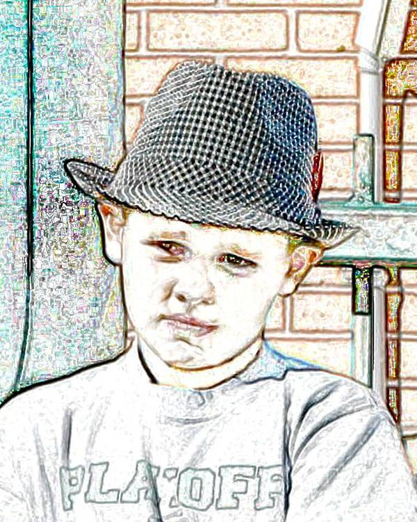 Hat Art Print featuring the photograph Hat Of A Hero by Lynn Reid