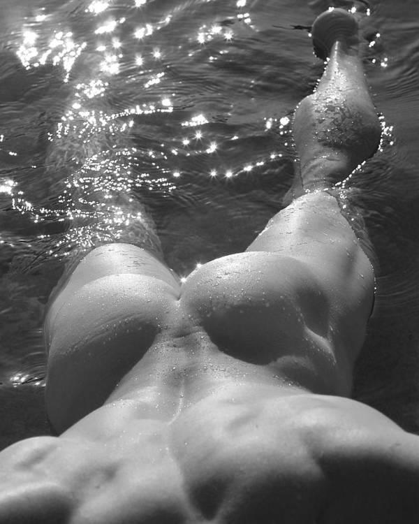Male Nude Figure Study Art Print featuring the photograph Jody IIi by Dan Nelson