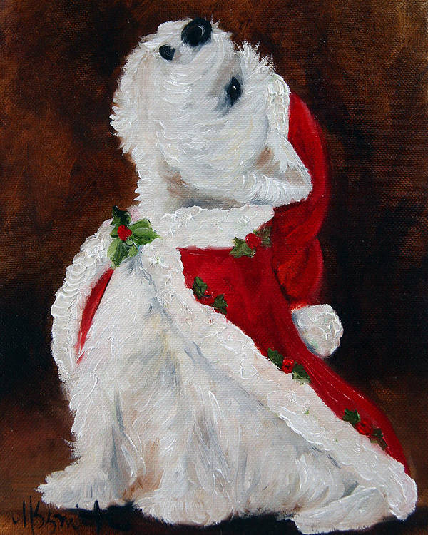 Art Art Print featuring the painting Joy To The World by Mary Sparrow