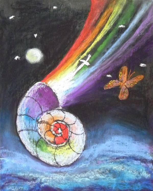 Inspiration Art Print featuring the painting My Creation Story by Jane McDowell
