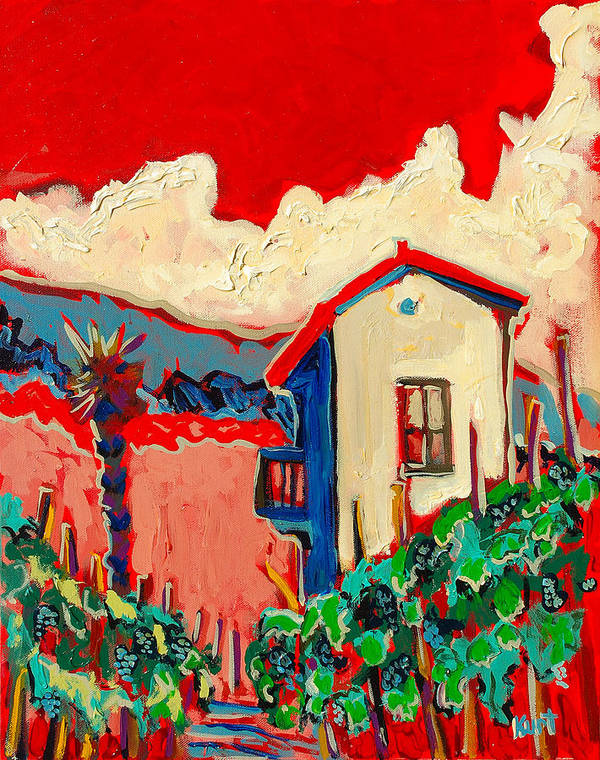 Tuscany Art Print featuring the painting Notare by Kurt Hausmann