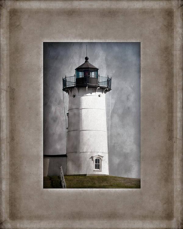 Cape Neddick Print featuring the photograph Nubble Light Maine by Carol Leigh