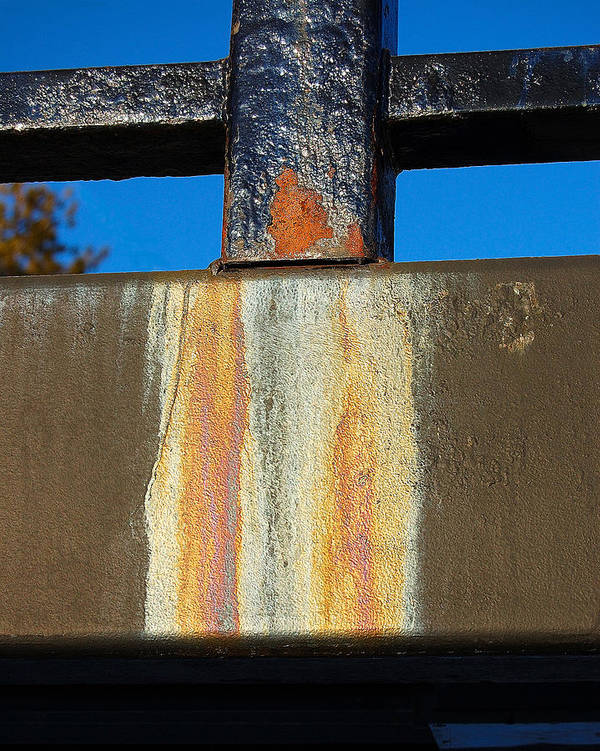 Bridge Art Print featuring the photograph Rust by Heather S Huston