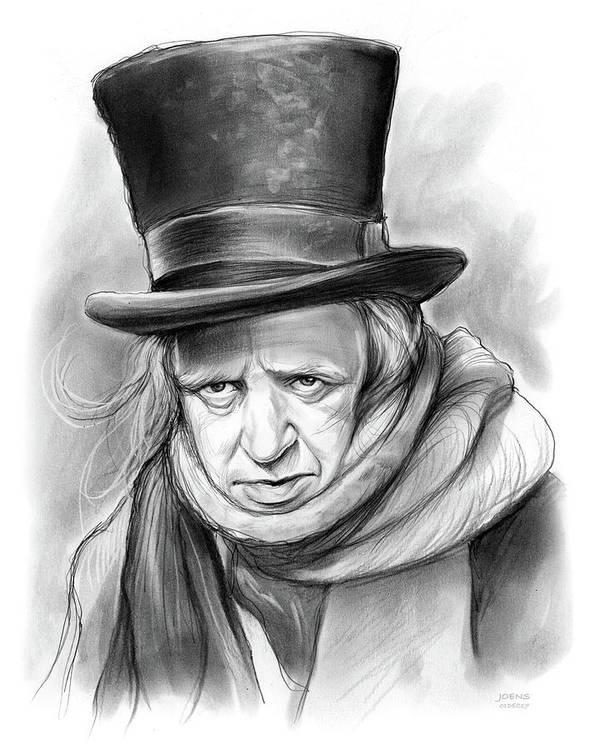 A Christmas Carol Scrooge Drawing Easy.Stunning Scrooge Art Fine Art America