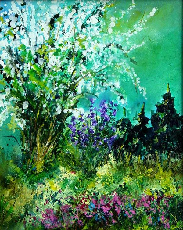 Tree Art Print featuring the painting Seringa by Pol Ledent