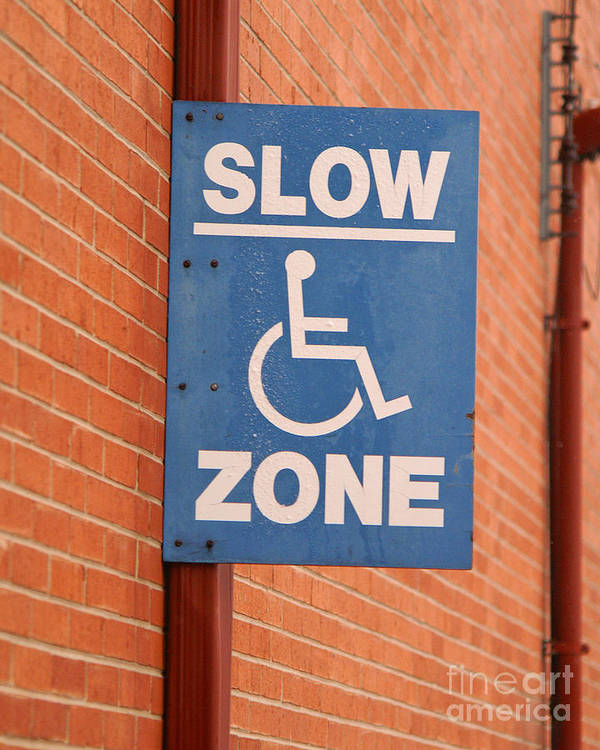 Slow Art Print featuring the photograph Slow Zone by Jack Norton