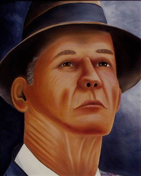 Portrait Art Print featuring the painting The Coach by Gene Gregory