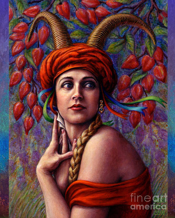 Woman Art Print featuring the painting The Letter by Jane Bucci