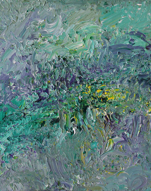 Fusionart Art Print featuring the painting Blind Giverny by Ralph White
