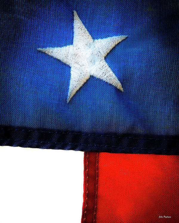 4th Of July Art Print featuring the photograph Variations On Old Glory No.7 by John Pagliuca