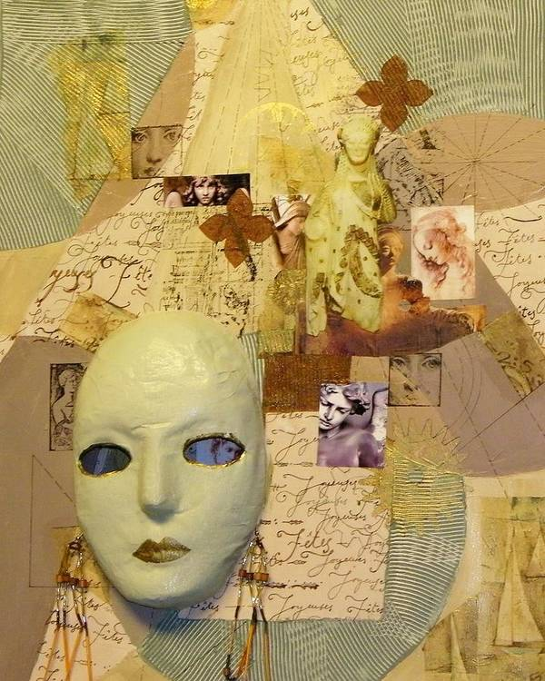 Collage Art Print featuring the painting Women Of Spirit by Terry Honstead