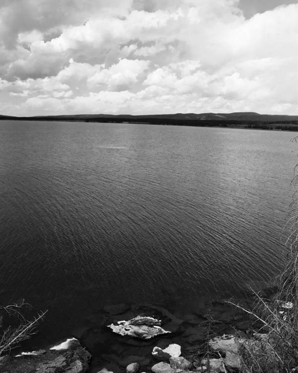 Lake Art Print featuring the photograph Yellowstone Lake by Jessica Wakefield