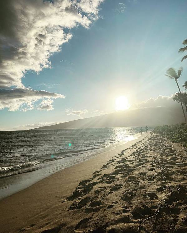 Hawaii Art Print featuring the photograph Maui by Kristin Rogers