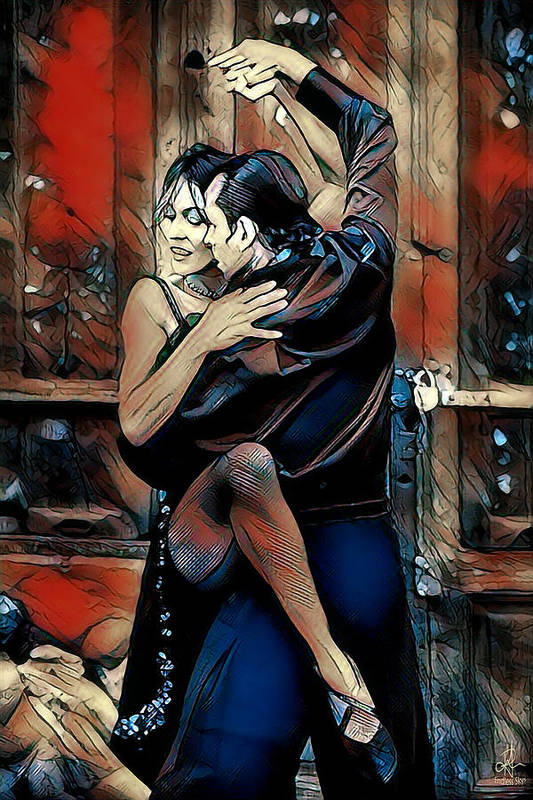 Let's Tango by Pennie McCracken