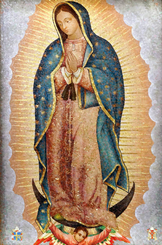 Our Lady of Guadalupe by Ariel Pedraza