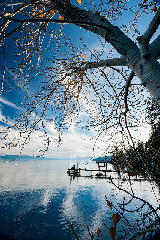 Lake Tahoe Art Print featuring the photograph North Shore Lake Tahoe by Mark Miller