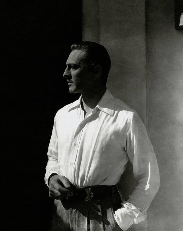 Actor Art Print featuring the photograph Portrait Of John Barrymore by Edward Steichen