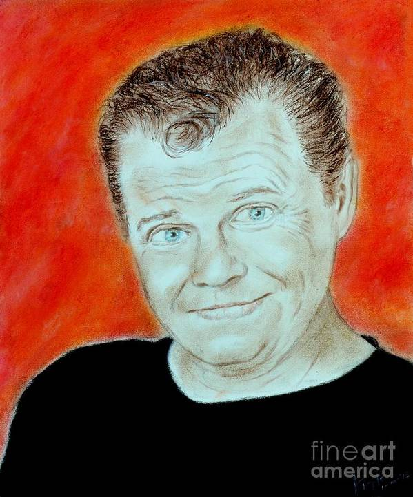 Acrylic on Canvas 5x7in Jerry the King Lawler