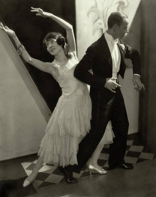 Actor Art Print featuring the photograph Dancers Fred And Adele Astaire by Edward Steichen