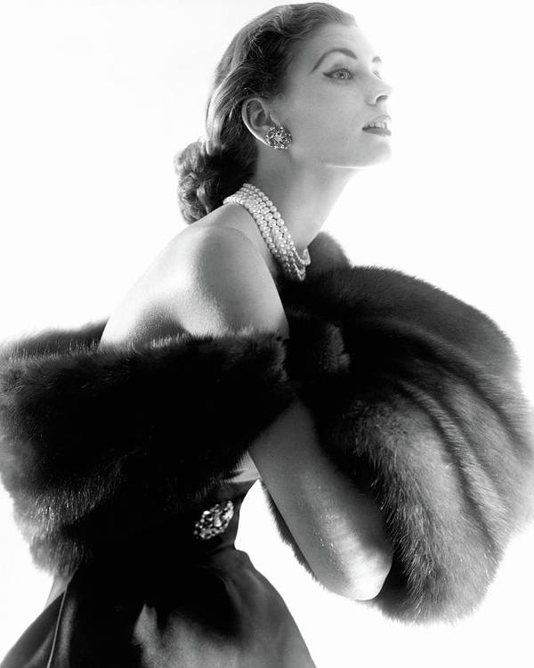 Personality Art Print featuring the photograph Suzy Parker by Horst P. Horst