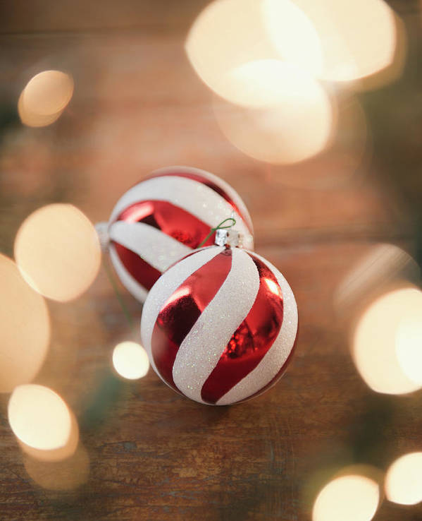 Christmas Ornament Art Print featuring the photograph Usa, New Jersey, Jersey City, Christmas by Jamie Grill