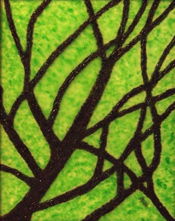 Corporate Art Art Print featuring the painting Branching Out by Anneliese Fritts