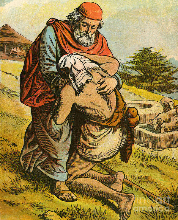 The Prodigal Son Art Print by English School