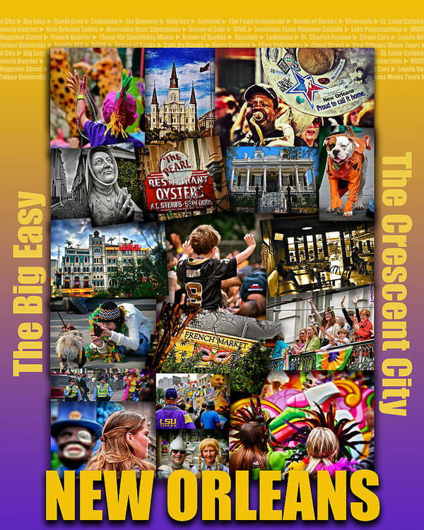 16x20 new orleans poster art print by jim albritton 16x20 new orleans poster art print