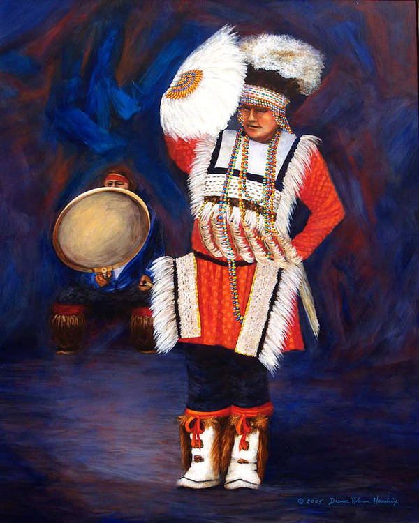 Alaska Art Print featuring the painting Arctic Rhythms by Dianne Roberson