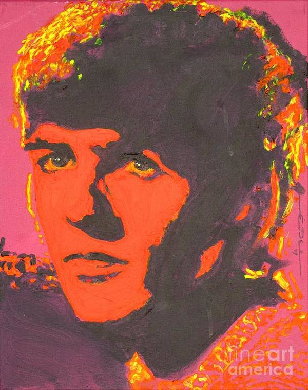 George Harrison Art Print featuring the painting George Harrison by Eric Dee