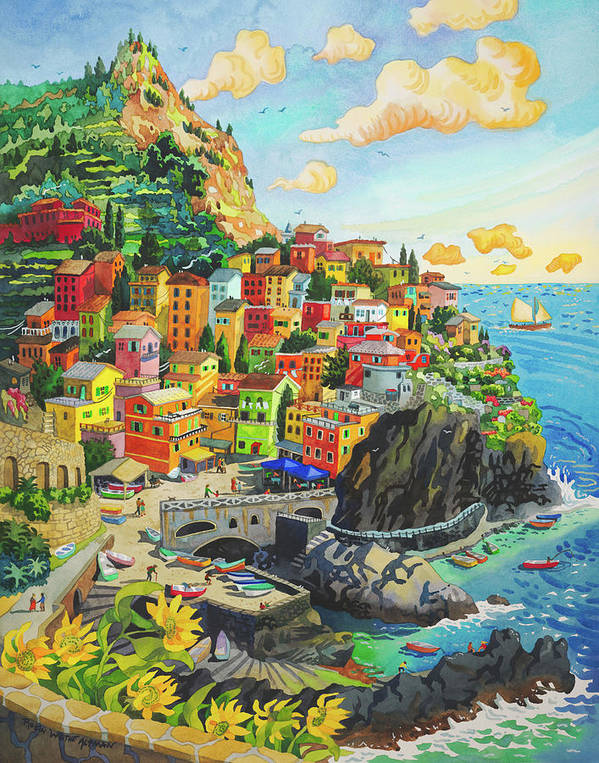 Manerola, Italy by Robin Wethe Altman