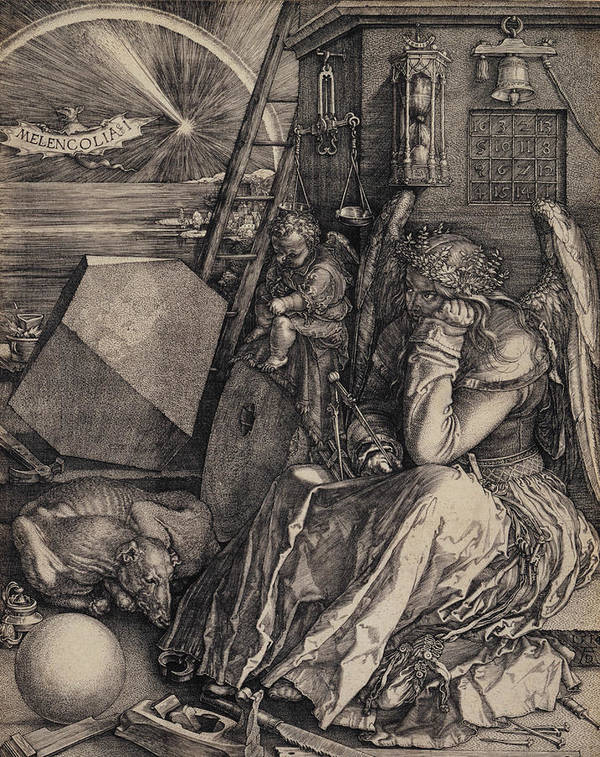 Albrecht Durer Melancolia paper or canvas reproduction