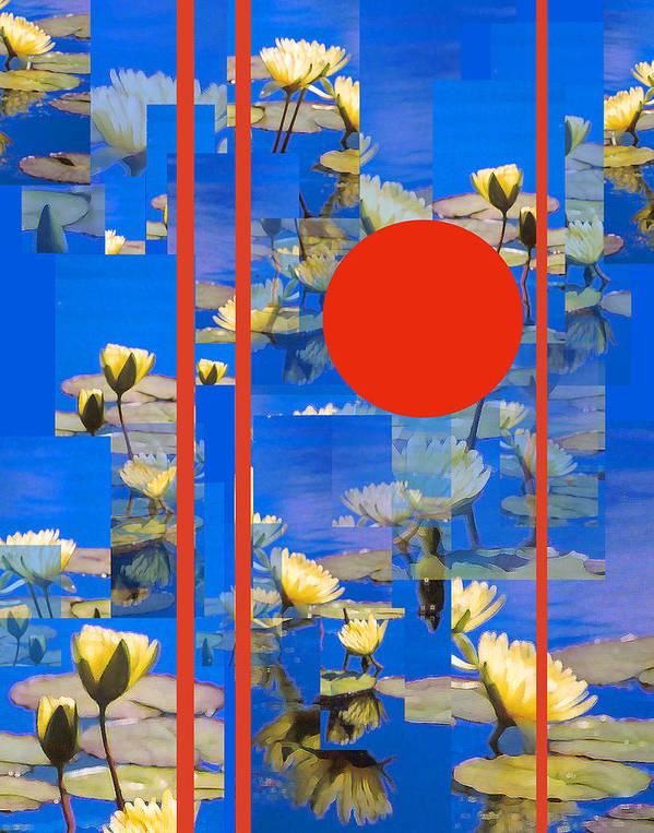 Flowers Art Print featuring the photograph Vertical Horizon by Steve Karol