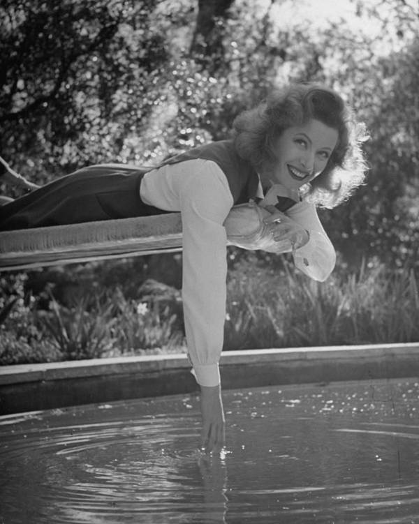 Timeincown Art Print featuring the photograph Greer Garson by Peter Stackpole