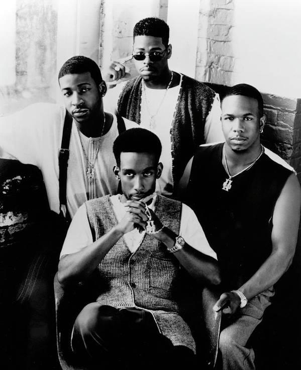 Expertise Art Print featuring the photograph Boyz II Men by Afro Newspaper/gado