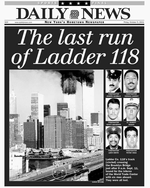 Vertical Art Print featuring the photograph Daily News Front Page Dated Oct. 5 by New York Daily News Archive