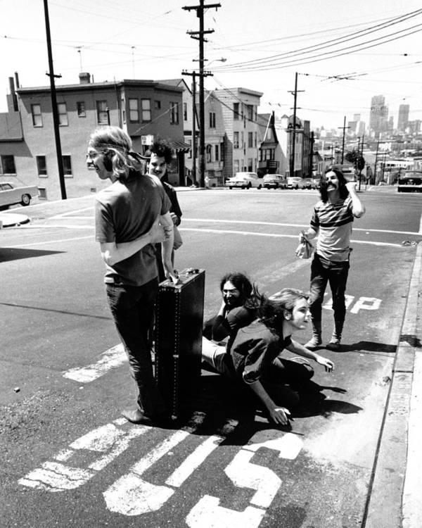 San Francisco Art Print featuring the photograph Grateful Dead Portrait by Michael Ochs Archives