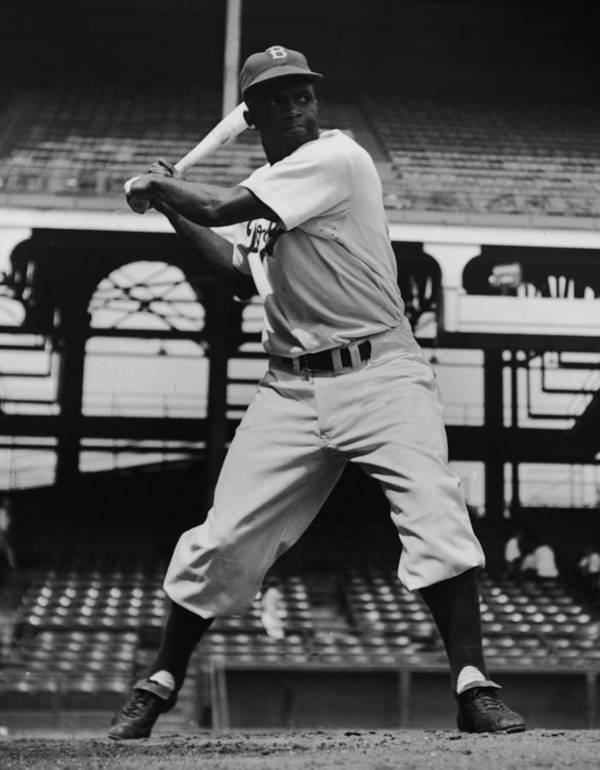 People Art Print featuring the photograph Jackie Robinson by Archive Photos
