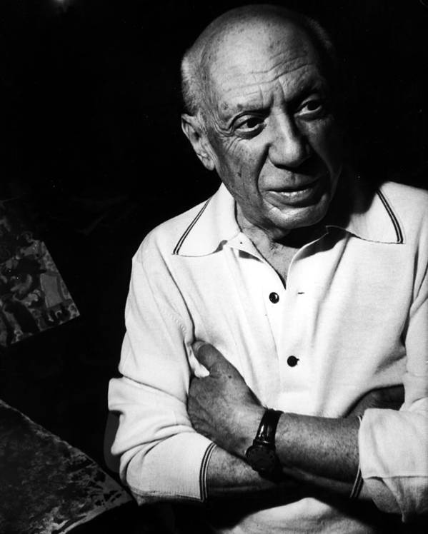 Artist Art Print featuring the photograph Pablo Picassopablo Picasso Misc by Gjon Mili