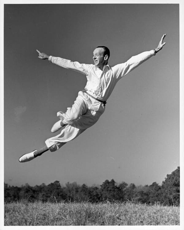 1950-1959 Art Print featuring the photograph Photo Of Fred Astaire by Michael Ochs Archives