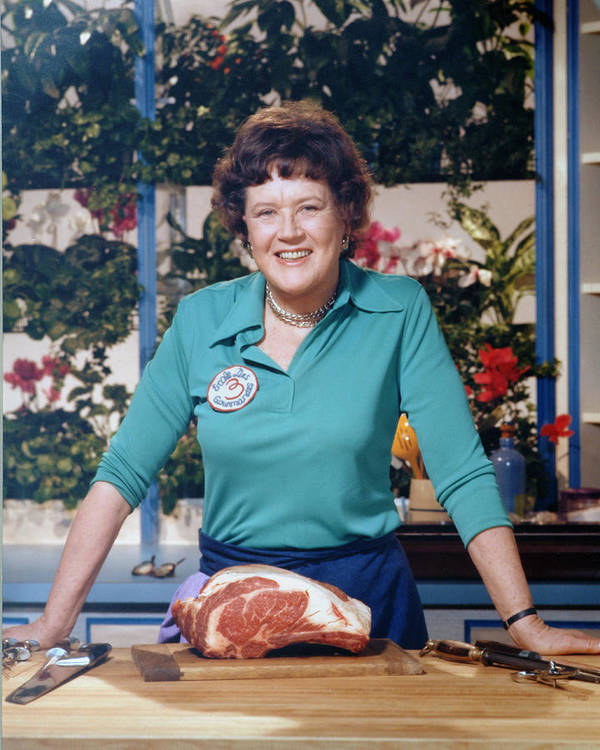 Expertise Art Print featuring the photograph Portrait Of Julia Child by Bachrach