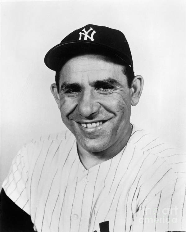 People Art Print featuring the photograph Yogi Berra by National Baseball Hall Of Fame Library