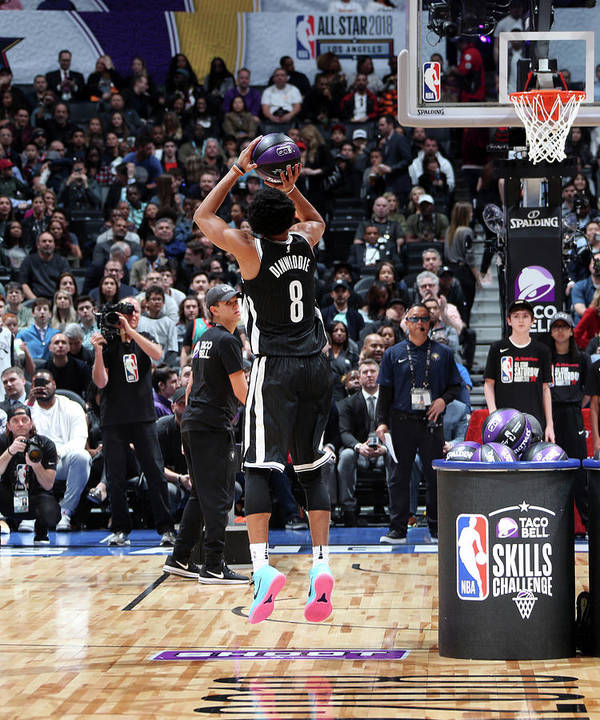 Event Art Print featuring the photograph Spencer Dinwiddie by Nathaniel S. Butler