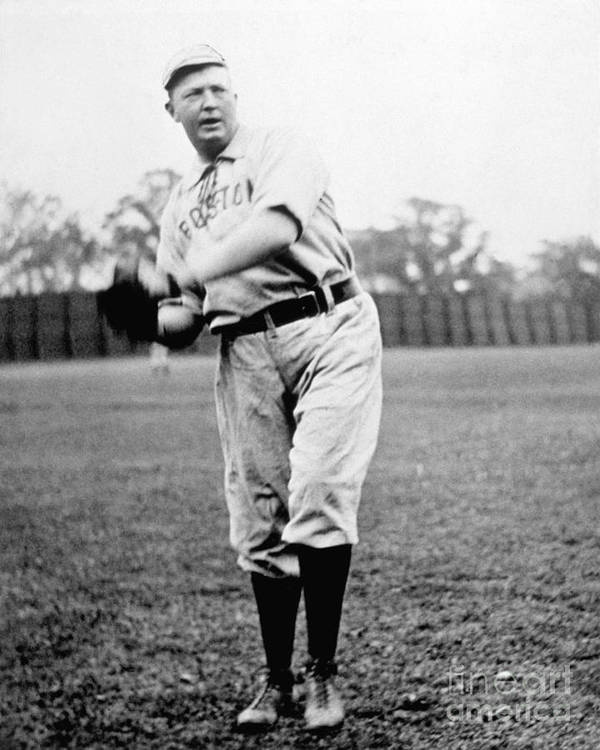 People Art Print featuring the photograph Cy Young by National Baseball Hall Of Fame Library