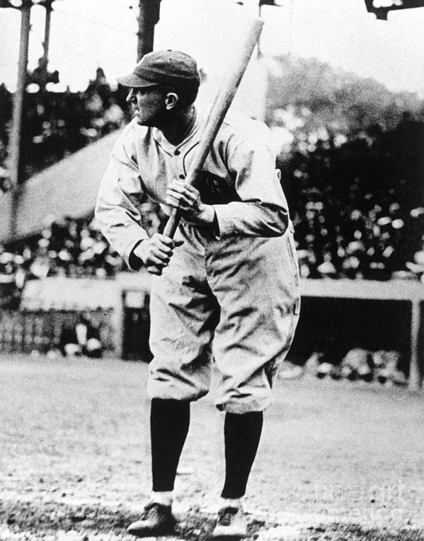 American League Baseball Art Print featuring the photograph Ty Cobb by National Baseball Hall Of Fame Library