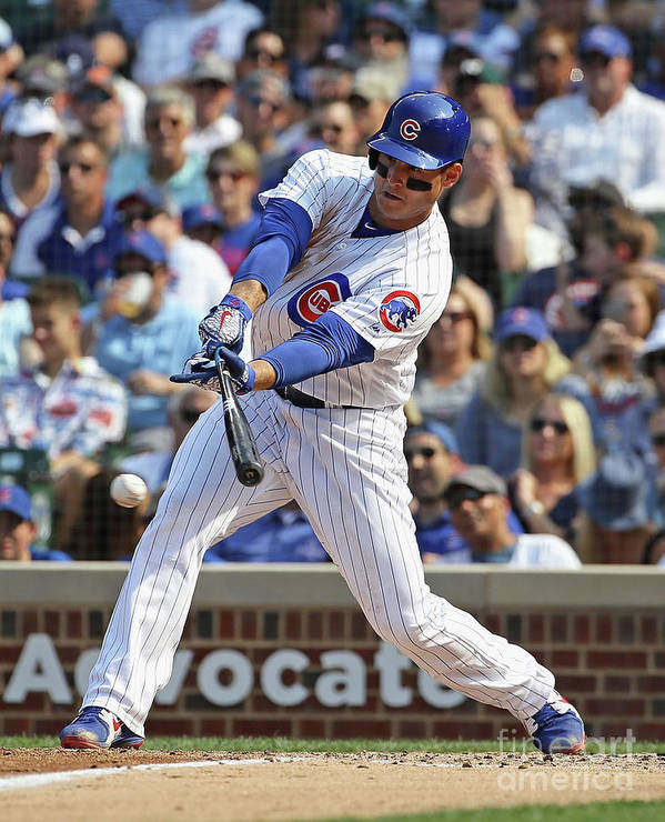 People Art Print featuring the photograph Anthony Rizzo by Jonathan Daniel