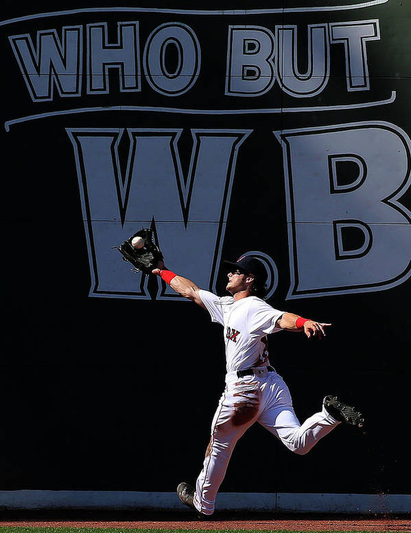 People Art Print featuring the photograph Andrew Benintendi by Jim Rogash